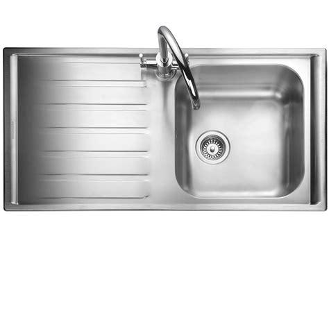 stainless steel sink for kitchen kitchen sinks taps rangemaster manhattan mn10101