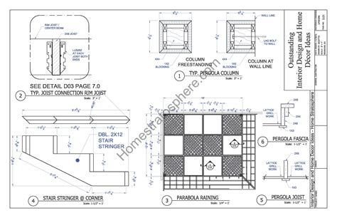 pergola blueprints free free deck plan with pergola pdf blueprint