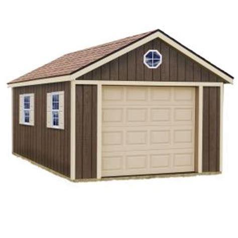 garage door kits home depot best barns 12 ft x 24 ft wood garage kit without