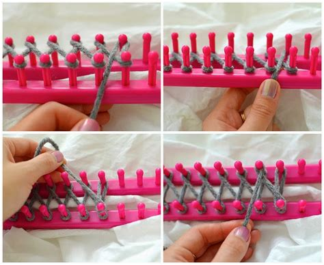diy knitting loom diy infinity scarf with a knitting loom diy craft projects