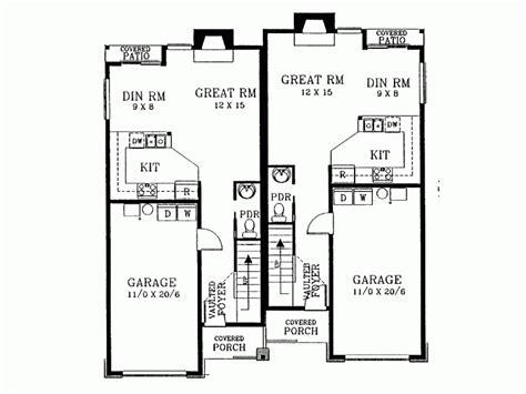 duplex plans for narrow lots 15 genius duplex house plans for narrow lots home