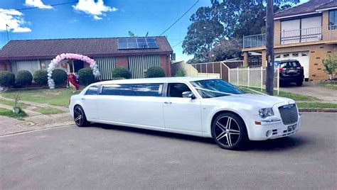Chrysler Limo by Chrysler Stretch Limousine 10 Seater