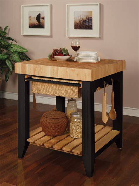 powell color story butcher block kitchen island colder powell color story black butcher block kitchen island by