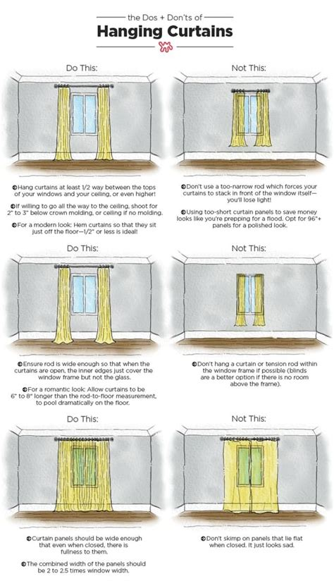 how low should curtains hang 25 best curtain ideas on window curtains