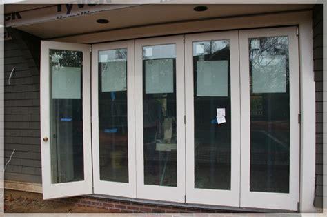 bi folding glass doors exterior different types of exterior folding sliding patio doors