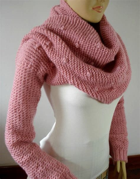 sleeve knitting pattern knitting pattern scarf with sleeves scarf with