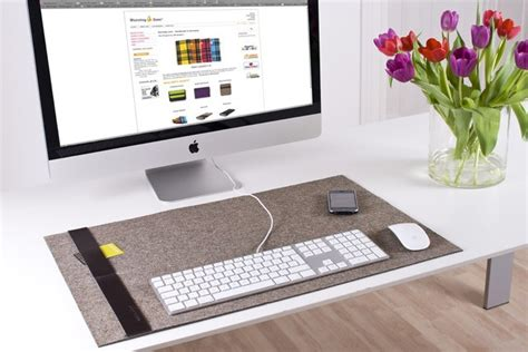 desk rug felt desk mat is like a cosy rug for wrists cult of mac