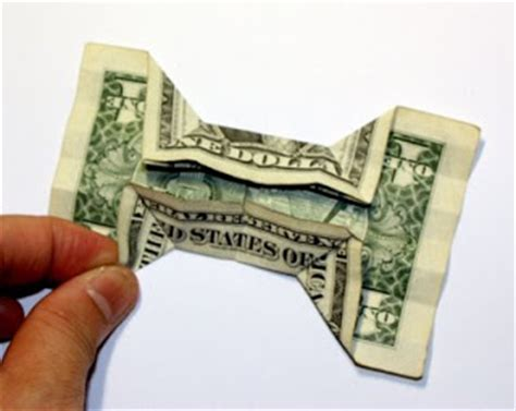 dollar bill origami bow tie origami n stuff 4 origami dollar bill bow tie