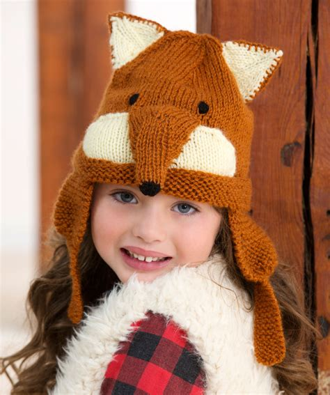 fox knit hat fox knitting patterns in the loop knitting
