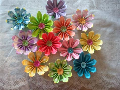 how to make from petals how to make 8 petals origami flower