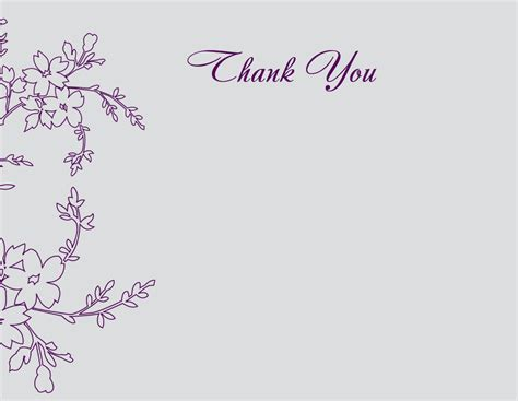 how to make thank you cards how to create thank you card templates for funeral anouk