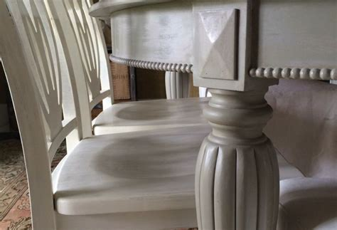 chalk paint newport news a neglected dining room set finished in and