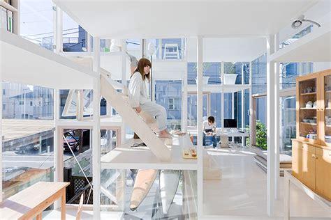 Zero Energy Home Design sou fujimoto s glassy house na blurs the distinction