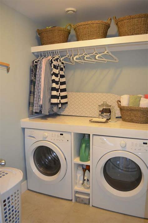 laundry room storage ideas for small rooms small laundry room design ideas 18 1 kindesign