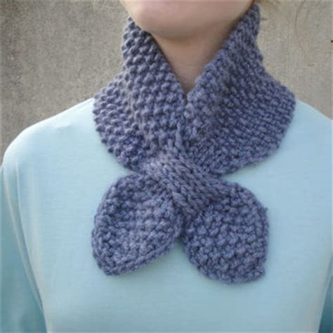 ascot scarf knitting pattern shop knitted ascot scarf on wanelo