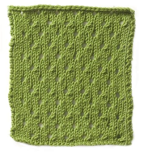 eyelet knit stitch eyelet stitch knitting