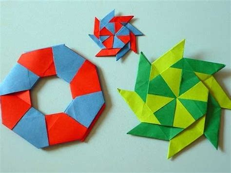 origami circle paper origami turns from a circle to a
