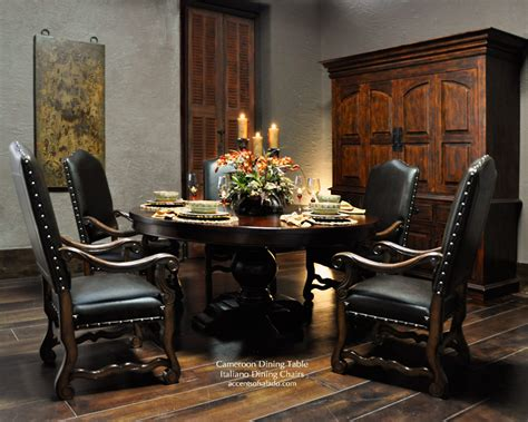 Tuscan Dining Room Tables tuscan dining room tables large round dining table for old