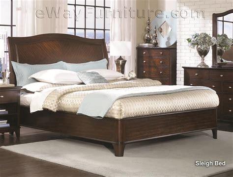 metropolitan bedroom furniture metropolitan mahogany sleigh platform bed bedroom set