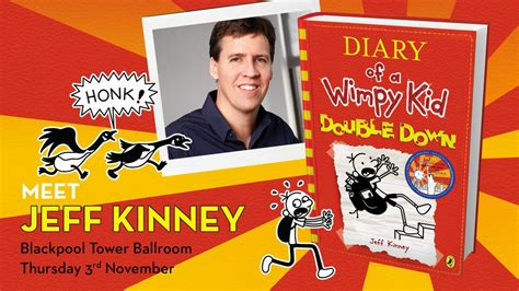 pictures of jeff kinney books win tickets to meet diary of a wimpy kid author jeff