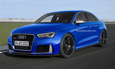 2015 Audi Rs3 Sedan by Audi Rs3 Sedan Looks Convincing In New Renderings
