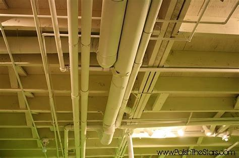 spray painting unfinished basement ceiling painting the basement ceiling basement rehab