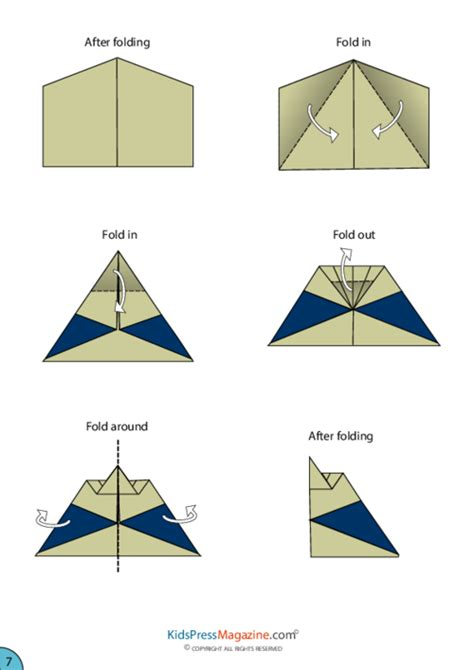 planes origami twinfin airplane origami kidspressmagazine