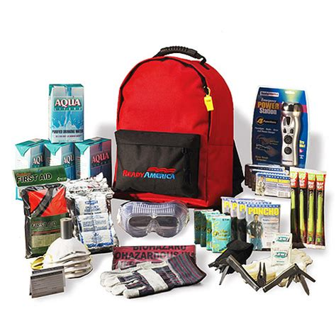 kits walmart grab n go deluxe 3 day 4 person emergency kit with
