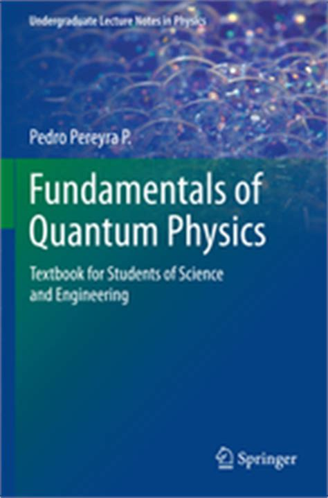 the picture book of quantum mechanics fundamentals of quantum physics textbook for students of