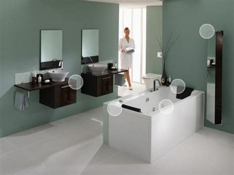 Spa Bathroom Color Schemes by Homeofficedecoration Spa Bathroom Paint Colors