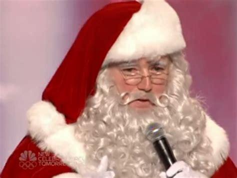 singing santa claus singing santa claus america s got talent wiki fandom