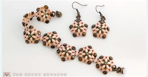 beading with superduos s crafty inspirations beading tutorial
