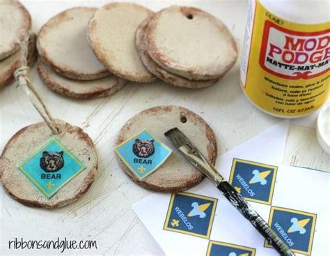 cub scout craft projects rustic salt dough ornaments ornaments