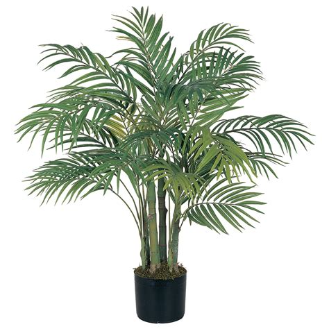 pot tree 3 foot artificial areca palm tree potted 5000