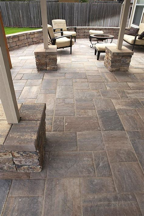 painting patio pavers 25 best ideas about paver patio designs on