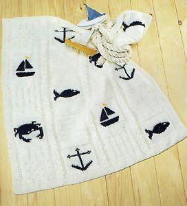 nautical blanket knitting pattern lovely babies unisex nautical blanket knitting pattern
