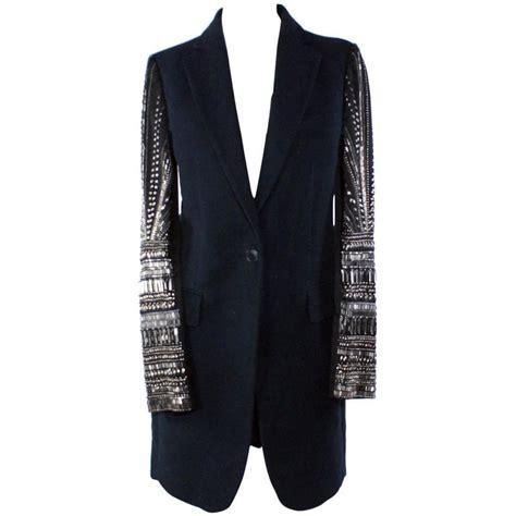 beaded blazer marni beaded navy blazer jacket for sale at 1stdibs