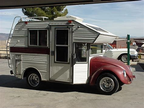 VW Beetle Minihome RV   Hippy Chick's Nest