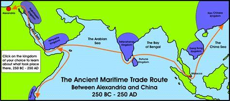 ancient trade nabataean travel maritime history
