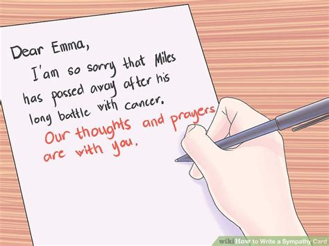 make a sympathy card how to write a sympathy card 10 steps with pictures