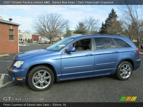 2007 Chrysler Pacifica Limited by Marine Blue Pearl 2007 Chrysler Pacifica Limited Awd