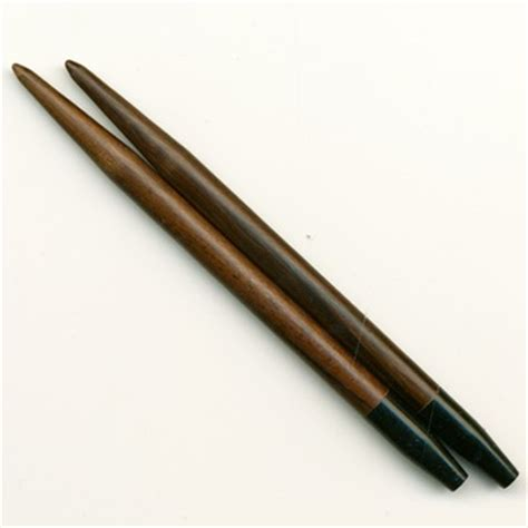 high end knitting needles colonial needle company rosewood interchangeable tips at