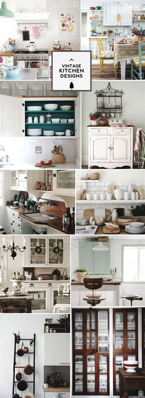 vintage kitchen decor ideas vintage kitchen design accessories and decor ideas