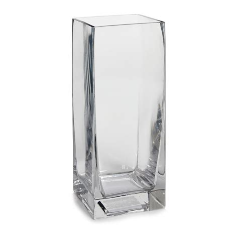 square glass wilko glass vase square clear at wilko