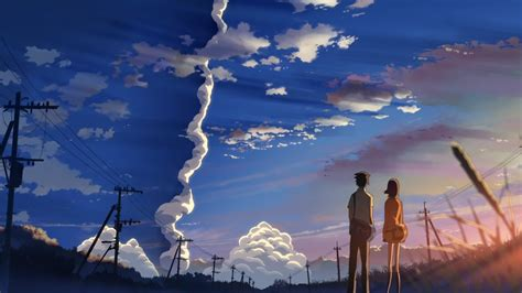 5 centimeters per second everything reviewed anime review 5 cm per second