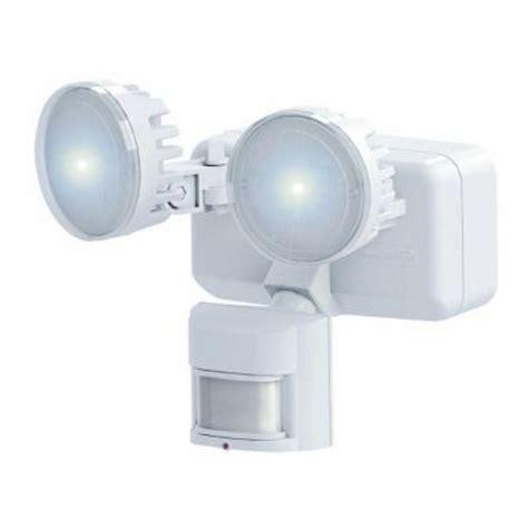 home depot solar motion lights heath zenith 180 degree outdoor white solar led motion