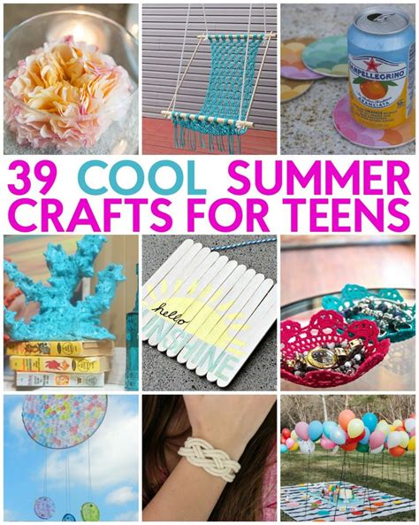 craft project ideas for teenagers 25 best ideas about summer crafts on