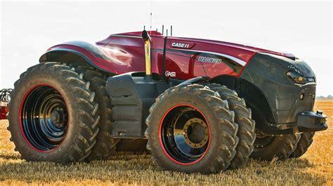 case ih case ih autonomous concept tractor youtube