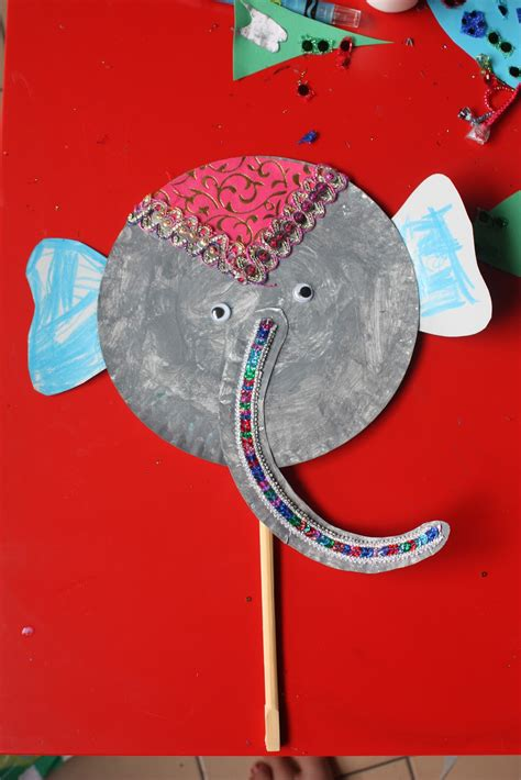 paper elephant craft whirls and twirls around the world india crafts paper