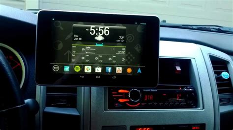 Car Apps For Computer by Nexus 7 Car Install Sony App Remote Unit